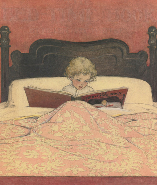 Art Prints of The Bedtime Story by Jessie Willcox Smith