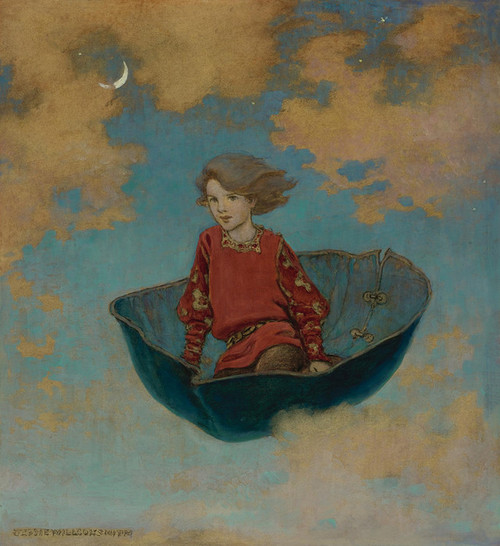 Art Prints of The Little Lame Prince by Jessie Willcox Smith