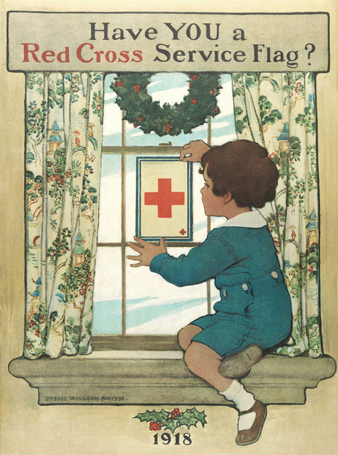 Art Prints of Have You a Red Cross Service Flag? by Jessie Willcox Smith