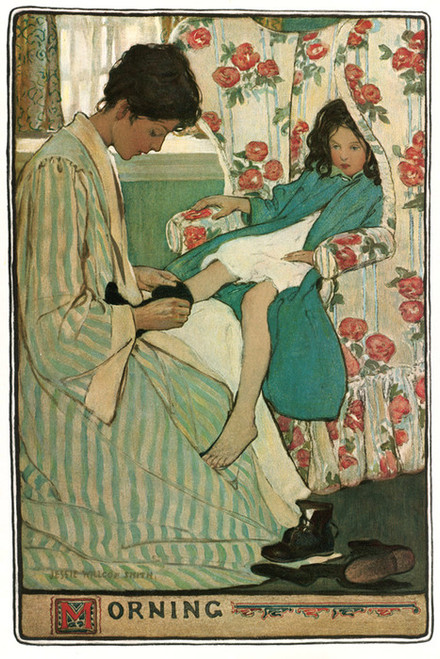 Art Prints of Morning by Jessie Willcox Smith