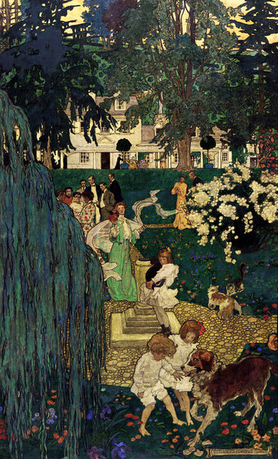 Art Prints of Life was Made for Love and Cheer by Jessie Willcox Smith