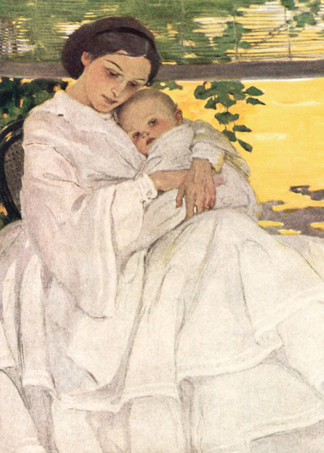 Art Prints of Sweet and Low, 1935 by Jessie Willcox Smith
