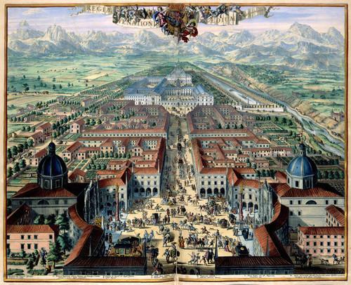 Art Prints of City View of Turin, 1682 (187) by Joan Blaue