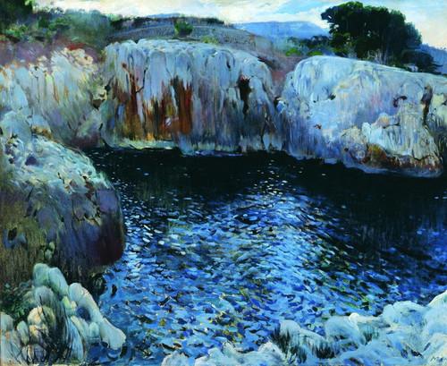 Art Prints of Costa de Mallorca by Joaquim Mir