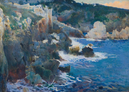 Art Prints of Cala Encantada Majorca by Joaquim Mir
