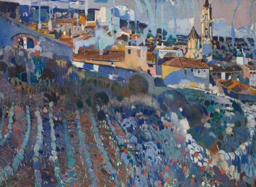 Art Prints of Terraced Village by Joaquin Mir