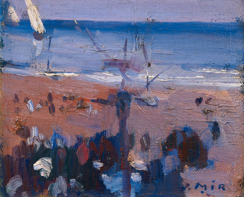 Art Prints of Boats on the Beach by Joaquin Mir Trinxet