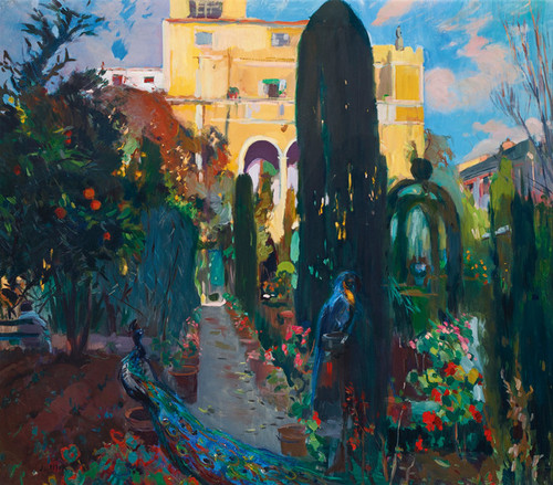 Art Prints of The Artist's House by Joaquim Mir