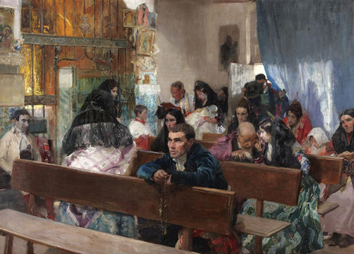 Art Prints of Christening by Joaquin Sorolla y Bastida