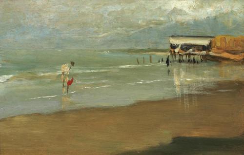 Art Prints of Galicia Beach by Joaquin Sorolla y Bastida