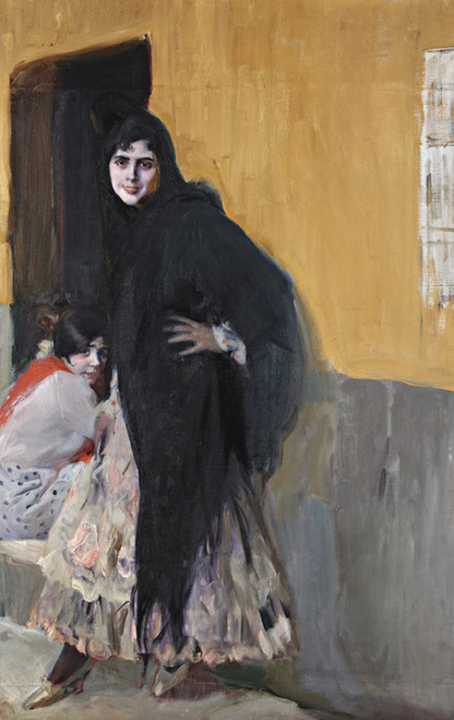 Art Prints of Ladies of Seville by Joaquin Sorolla y Bastida