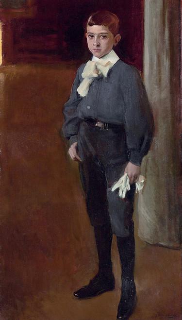 Art Prints of Portrait of Child Jose Maria Suarez by Joaquin Sorolla y Bastida