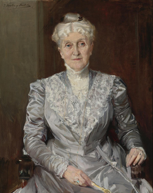 Art Prints of Portrait of Emily Perkins by Joaquin Sorolla y Bastida