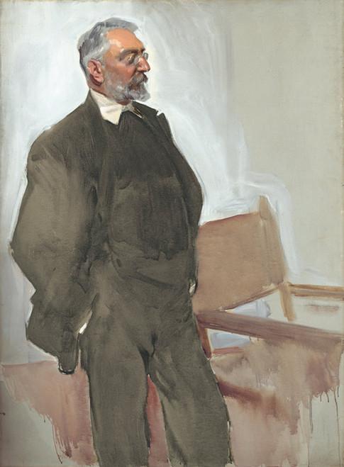 Art Prints of Portrait of Unamuno by Joaquin Sorolla y Bastida