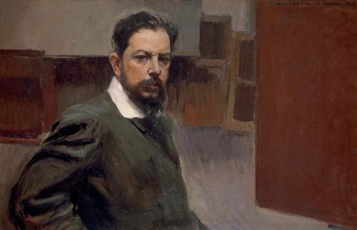Art Prints of Self Portrait by Joaquin Sorolla y Bastida