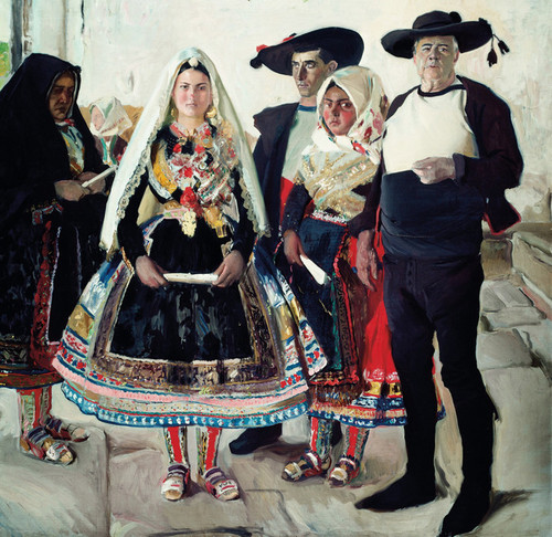 Art Prints of Typical Lagarterans or Lagarteran Bride by Joaquin Sorolla y Bastida