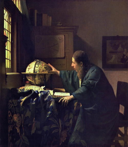 Art Prints of The Astronomer by Johannes Vermeer