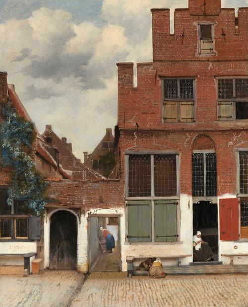 Art Prints of The Little Street by Johannes Vermeer