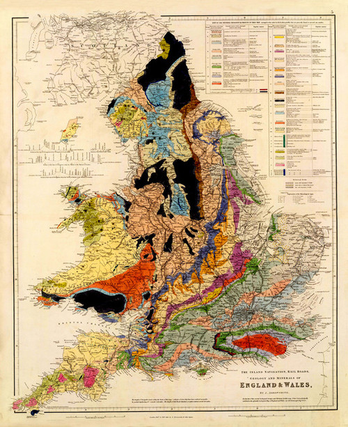 Art Prints of Inland Navigation of England and Wales (4613005) by John Arrowsmith