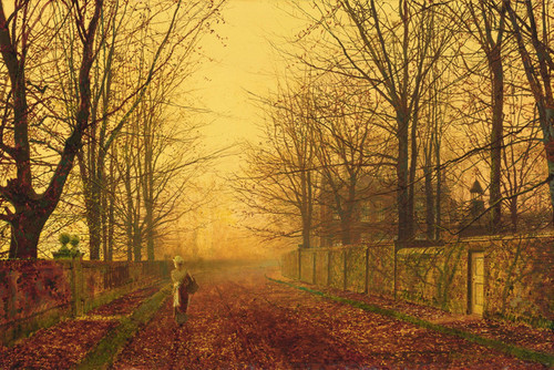 Art Prints of A Golden Idyll by John Atkinson Grimshaw