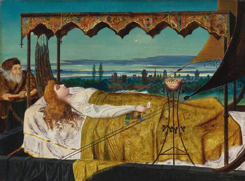 Art Prints of Elaine by John Atkinson Grimshaw