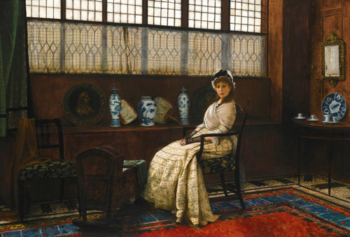 Art Prints of The Cradle Song by John Atkinson Grimshaw