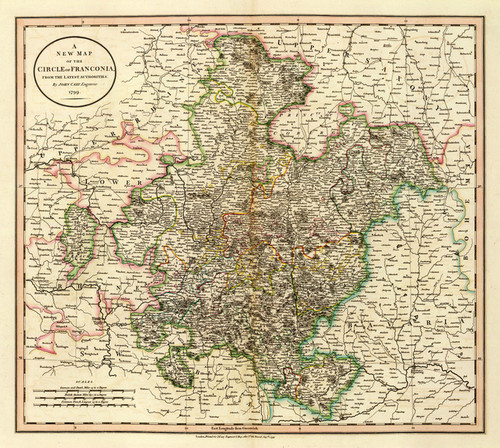 Art Prints of Franconia, 1799 (1657027) by John Cary