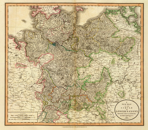 Art Prints of Lower Saxony, 1801 (1657025) by John Cary