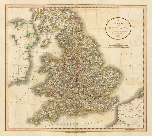 Art Prints of England, 1807 (1657006) by John Cary