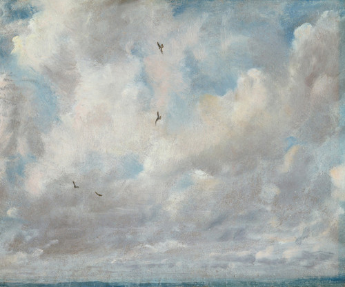 Art Prints of Cloud Study by John Constable