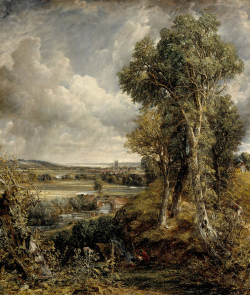 Art Prints of The Vale of Dedham by John Constable