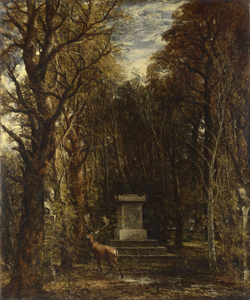 Art Prints of Cenotaph to the Memory of Sir Joshua Reynolds by John Constable