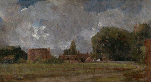 Art Prints of Golding Constable House, East Bergholt by John Constable