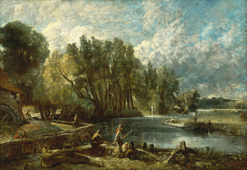 Art Prints of Stratford Mill by John Constable