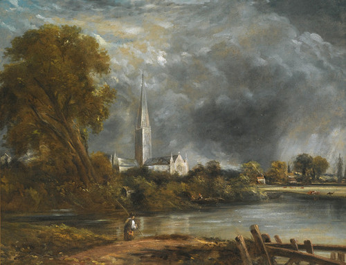 Art Prints of Salisbury Cathedral from the Meadows by John Constable
