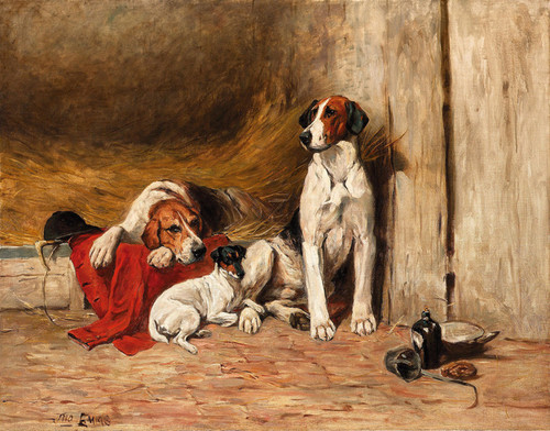 Art Prints of In the Kennel by John Emms