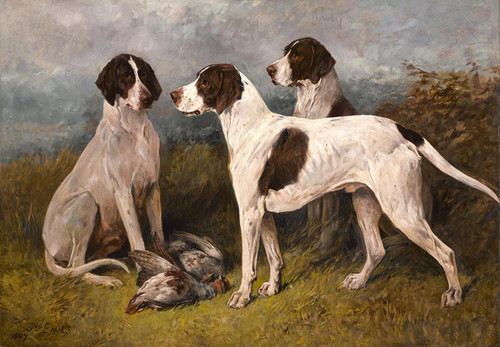 Art Prints of Ruby and Companions by John Emms