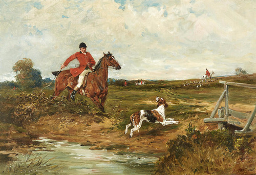 Art Prints of The Whipper In by John Emms