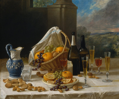 Art Prints of Luncheon, Still Life by John F. Francis