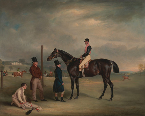 Art Prints of Euxton with John White up at Heaton Park by John Ferneley