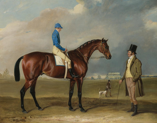 Art Prints of Physician with H. Edwards Up by John Ferneley