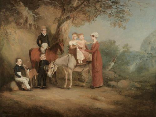 Art Prints of The Marriott Family by John Ferneley