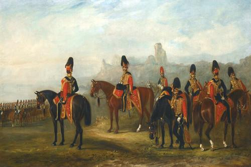 Art Prints of XV King Hussars by John Ferneley