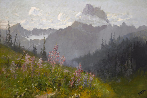 Art Prints of Mount Wilbur, Glacier National Park by John Fery
