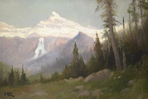 Art Prints of Blackfoot Glacier, Glacier Park by John Fery