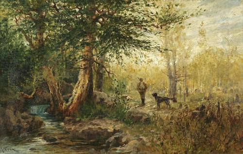 Art Prints of Hunter's Grove by John Fery