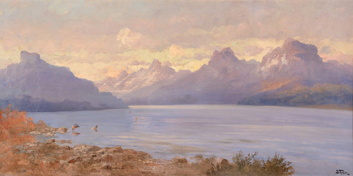 Art Prints of Jackson Lake by John Fery