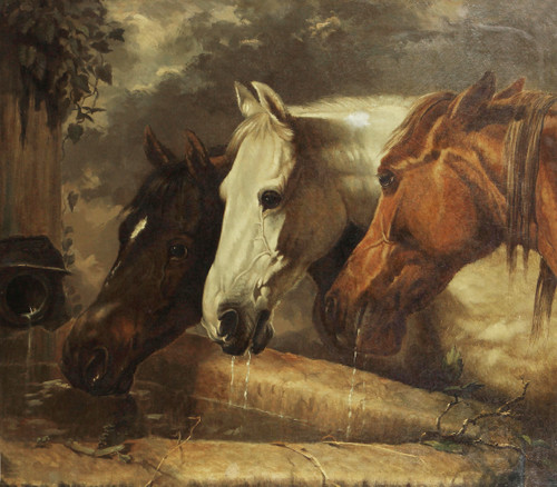 Three Members of the Temperance Society by John Frederick Herring