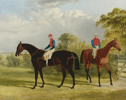 Art Prints of Industry with Caroline Elvina by John Frederick Herring
