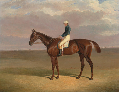 Art Prints of Margrave with James Robinson Up by John Frederick Herring